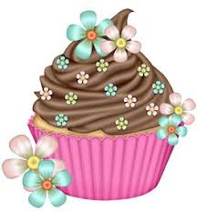 Birthday cupcake clipart png cute