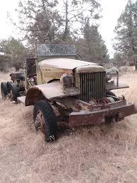 100 Deuce Truck Best Wwii 1944 Army 6x6 Cargo For Sale In Klamath