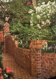 Photo Of Brick Ideas by Best 25 Retaining Wall Bricks Ideas On Backyard