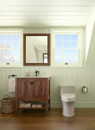 Best Colors For Bathroom Cabinets by Ceiling Detail For Walk Up Attic Green Bathroom Ideas Natural