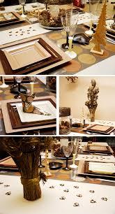 deco noel de table décoration de noel notre sélection de tables