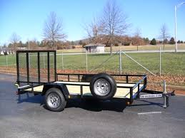 6X12 UTILITY LANDSCAPE TRAILER FOR SALE UTV