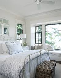 A Beautiful Neutral Cottage Style Bedroom With Farmhouse Touches