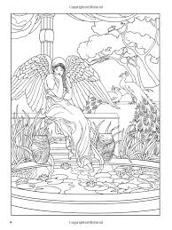 Angel Coloring Book Dover Books Marty Noble 9780486467757 Amazonde