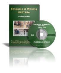 waxing vct tile floors dvd