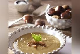 cuisine chataigne soupe de châtaigne par julie andrieu recette de cuisine