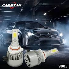 carptah c6 cob 9005 hb3 led headlight 36w 3800lm all in one