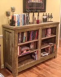 Diy Pallet Bookcase Shelves