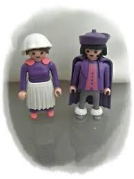 details zu playmobil nostalgie puppenhaus rosa serie 2 figuren 1 aus set 5324 badezimmer