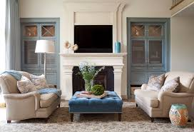 Houzz Living Rooms Traditional by Built Ins Around Fireplace Living Room Traditional With Built Ins