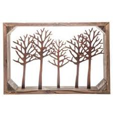 Tree Wall Decor With Pictures by Large Metal U0026 Wood Tree Wall Decor With Birds Trees Other And