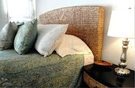 Pottery Barn Seagrass Headboard by Seagrass Headboard Water Hyacinth Full Queen Seagrass Headboard