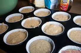 backen ohne zucker schnelle haferflocken apfelmus muffins