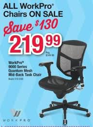 Work Pro Office Furniture by Office Depot And Officemax Black Friday Workpro Quantum 9000