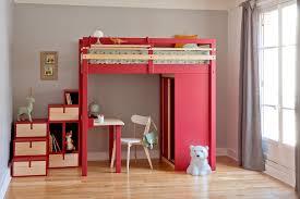 lit mezzanine 1 place bureau integre lit mezzanine avec bureau integre