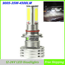 new arrival 9005 led lights 35w 4500lm high bright led bulbs