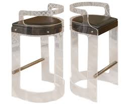 Vanity Chair With Wheels by Bar Stools Lucite Counter Stools With Back Lucite Vanity Stool