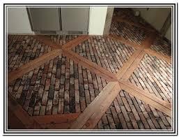brick flooring flooring designs