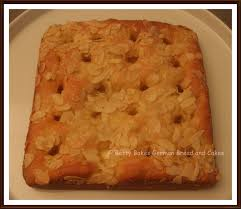 Betty Bakes German Bread and Cakes Buttercake Butterkuchen