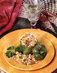 cuisiner les poivrons recette poivrons farcis à l orientale