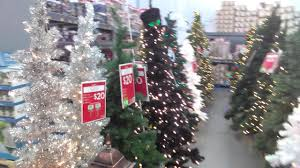 Different Colored Christmas Trees For Sale At Wal Mart On Dewey Avenue In Greece New York October