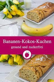 bananen kokos kuchen mit buttermilch