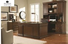 Hooker Furniture Cherry Creek Series Hardwood Executive Desks & Writing Desks