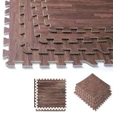 Foam Floor Mats South Africa by 32 Sqft Dark Soft Wood Grain Eva Mats Foam Interlocking Flooring