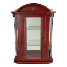 Pulaski Display Cabinet Vitrine by Display U0026 Curio Cabinets Amazon Com