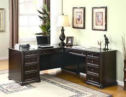 desk sauder harbor view corner computer desk with hutch antiqued