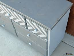 Tool Box Dresser Diy by 7 Drawer Dresser With Chevron Top Her Tool Belt