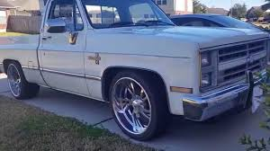 100 Chevy Truck Wheels For Sale 1987 Chevy C10 Silverado YouTube