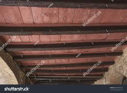 100 Brick Ceiling Exposed Wood Beams Walls Stock Photo Edit Now