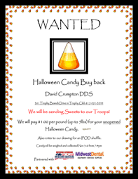 Operation Gratitude Halloween Candy Buy Back by Halloween Candy Buy Back Support The Troops Trophy Club