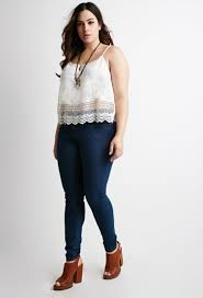 how to wear skinny jeans if you u0027re plus size