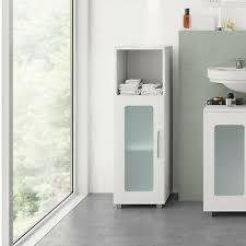 vicco badschrank rayk 95 x 30 cm weiß bad schrank