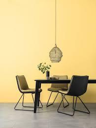 designfarbe freundliches goldgelb schöner wohnen farbe