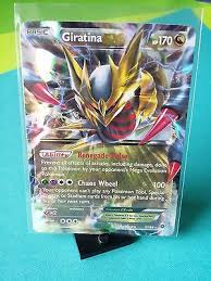 giratina ex 57 98 ancient origins pokemon card ultra rare full