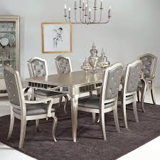 Luxury White Chairs Dining Sets Plus Rectangle Table Royal Furniture Memphis Tn Under Hanging Lighting