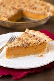Keeping Pumpkin Pie From Cracking by Streusel Pumpkin Pie Cooking Classy