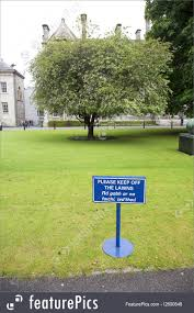 100 The Lawns Keep Off Picture