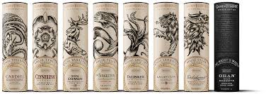 100 Design21 Game Of Thrones Single Malt Scotch Whisky Collection Package