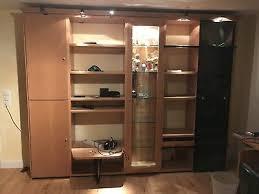 wohnzimmer wohnwand gebraucht hülsta mega design eur