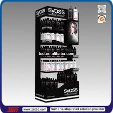 TSD M137 Custom High Quality Pos Metal Hair Salon Products Display Racksalon