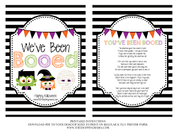 Halloween Mad Libs Pdf by Best 25 You Ve Been Booed Ideas Only On Pinterest Halloween Boo