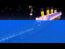 minecraft r m s titanic sinking youtube