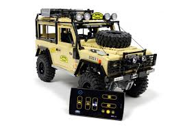 100 Lego Remote Control Truck This LEGO Land Rover Defender 90 Has FourWheel Drive