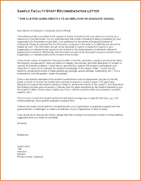 4 Recommendation Letter Sample For Student Sample Of Invoice