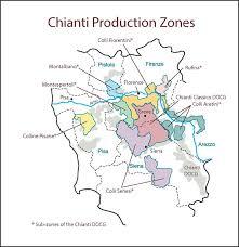 Chianti Italy SWE Map 2017 Wine Wit And Wisdom