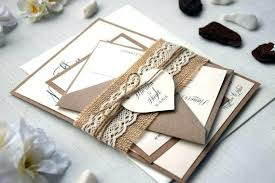 Good Rustic Wedding Invitation Sets For Kits With Winsome Invitations Resulting An